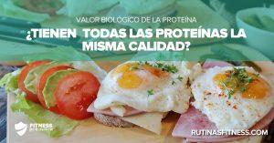 Lee más sobre el artículo Valor biológico de la proteína. ¿Sabes lo qué es?
