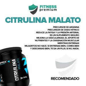 Lee más sobre el artículo Citrulina Malato. ¿Funciona? ¿Es recomendable?