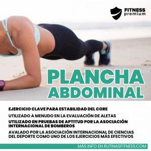 Lee más sobre el artículo Plancha abdominal. Aprende más sobre este ejercicio