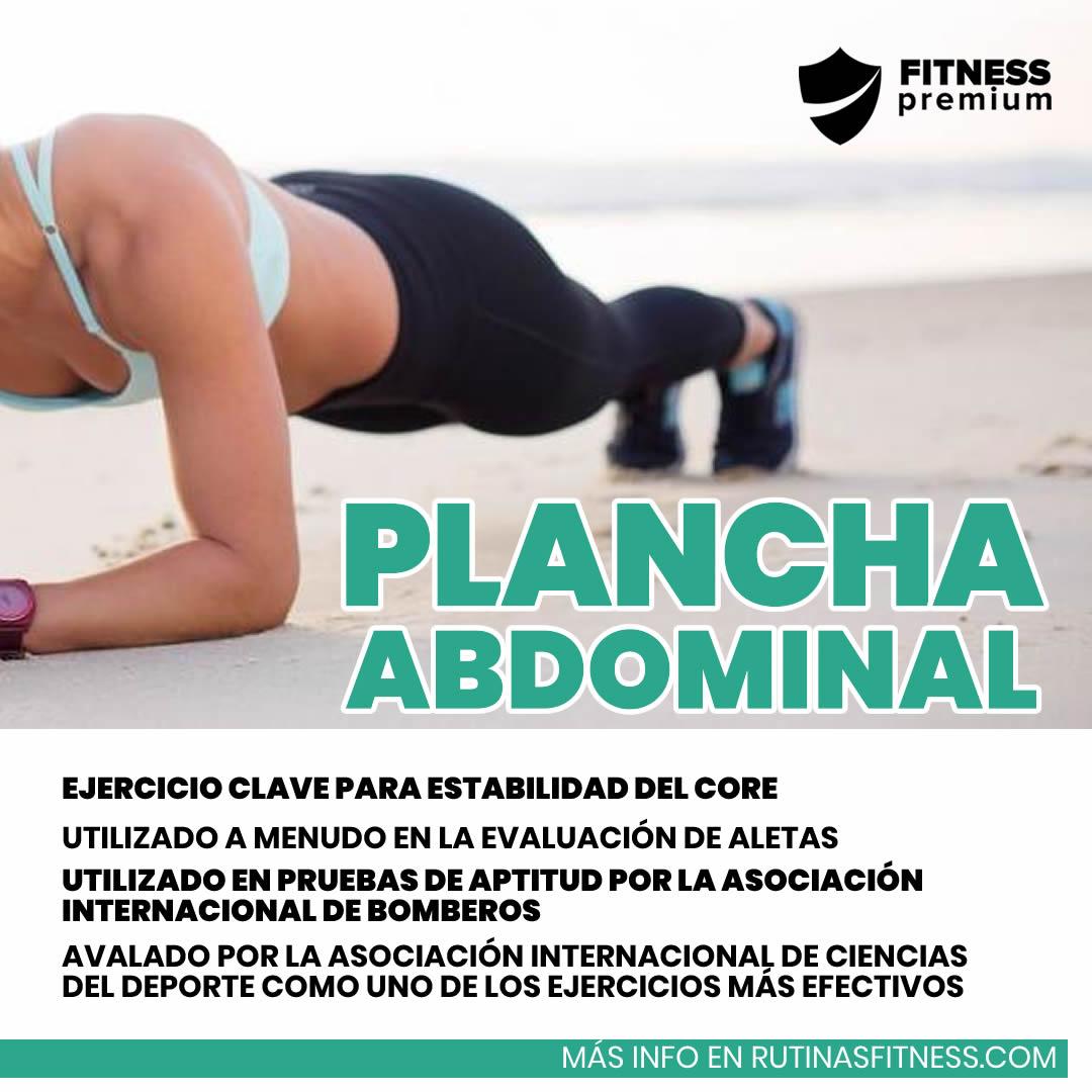 En este momento estás viendo Plancha abdominal. Aprende más sobre este ejercicio