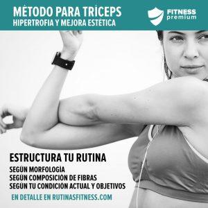 Lee más sobre el artículo Hipertrofia para el tríceps: el método de entrenamiento.