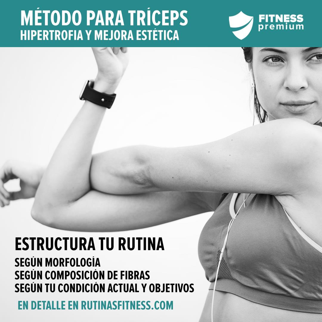 En este momento estás viendo Hipertrofia para el tríceps: el método de entrenamiento.